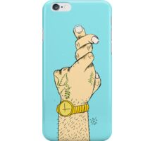 Cross Your Fingers II iPhone Case/Skin