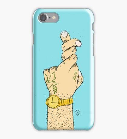 Cross Your Fingers II iPhone Case/Skin