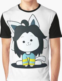 Undertale Temmie Fan-Art Graphic T-Shirt