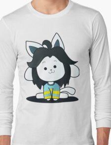 Undertale Temmie Fan-Art Long Sleeve T-Shirt