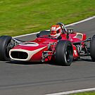 One man, four wheeels and a V8 by fotopro