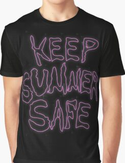 Rick & Morty-KEEP SUMMER SAFE Graphic T-Shirt