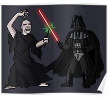 Darth Vader vs Lord Voldemort Poster