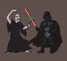 Darth Vader vs Lord Voldemort by jasesa