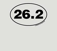26.2 Miles Oval Sticker Unisex T-Shirt