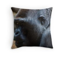 the missing link? Throw Pillow