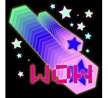 Vaporwave-WOW Photographic Print