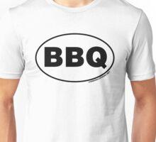 BBQ Oval Sticker Unisex T-Shirt