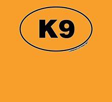 K9 Oval Sticker Unisex T-Shirt