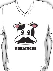 Moostache (white) T-Shirt
