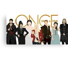 Once Upon A Time Main Cast Canvas Print