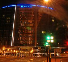 Park plaza Hotel in colors  by santinopani