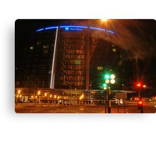 Park plaza Hotel in colors  Canvas Print