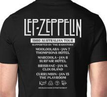 Lep Zepp white world tour Unisex T-Shirt