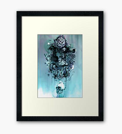 Doom and Bloom Framed Print