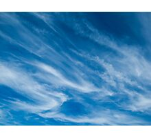 High clouds Photographic Print