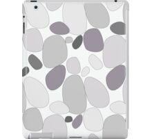 Pebble pattern in grey tones (ipad case) iPad Case/Skin