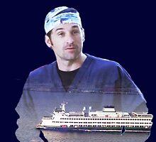 Derek Shepherd ferries by cristinaandmer