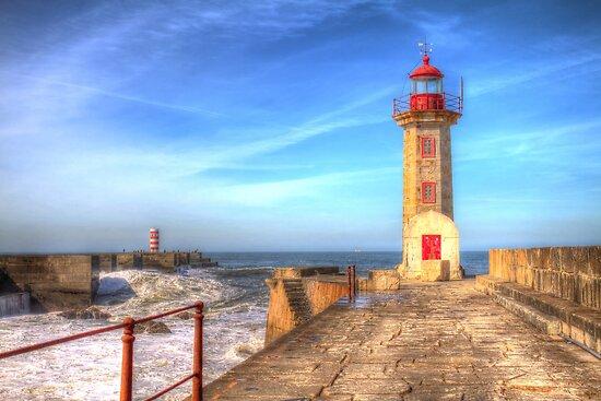 Porto Lighthouse by Robyn Carter