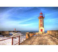 Porto Lighthouse Photographic Print