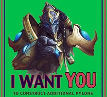 Uncle Starcraft Wants You by eamon short