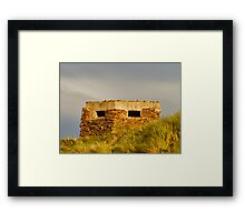COVESEA BEACH PILL BOX Framed Print