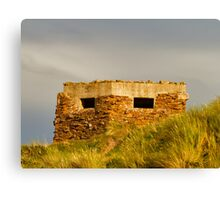 COVESEA BEACH PILL BOX Canvas Print