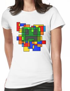 Neoplastic Creeperface Womens Fitted T-Shirt