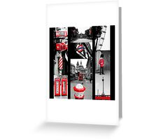 Icons of London Greeting Card