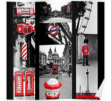 Icons of London Poster