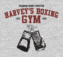 Harvey's Boxing Gym by chooface