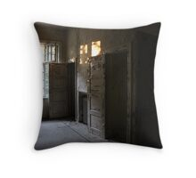 Abandoned asylum. Old Lier Mental Hospital, Norway. Built 1921, closed 1985. Throw Pillow