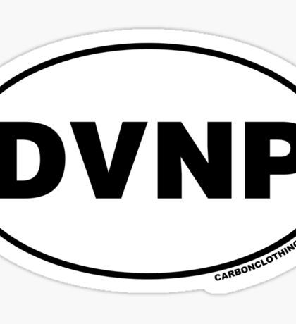 Death Valley National Park DVNP Sticker