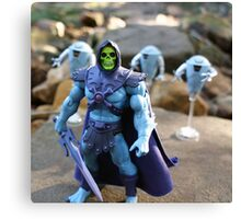 Masters of the Universe Classics - Skeletor & Hoverbots Canvas Print