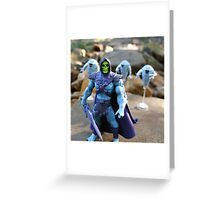 Masters of the Universe Classics - Skeletor & Hoverbots Greeting Card