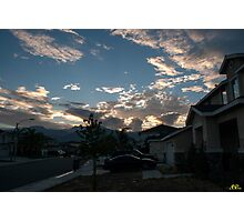 Neighborhood Sunrise Photographic Print