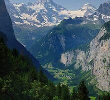 Breithorn & Tschinglehorn by Blagnys