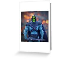 Masters of the Universe Classics - Skeletor  Greeting Card