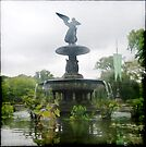 Central Park Angel by Benedikt Amrhein
