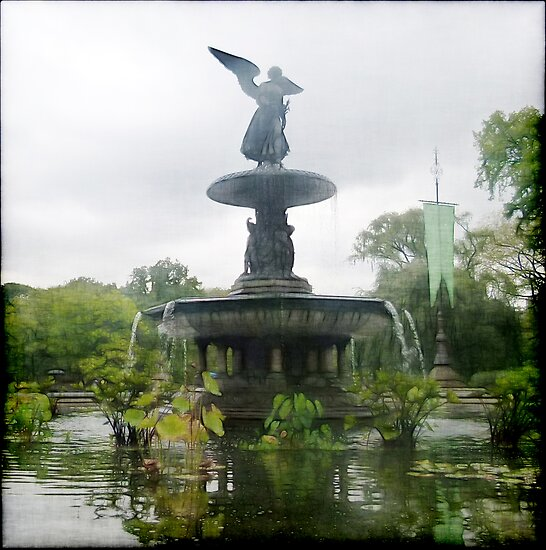 Central Park Angel by Benedikt Amrhein