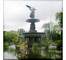 Central Park Angel Photographic Print
