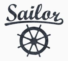 Sailor Wheel Dark by theshirtshops