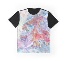Vibrant Frost 3 Graphic T-Shirt