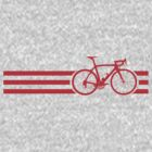 Bike Stripes Red by sher00