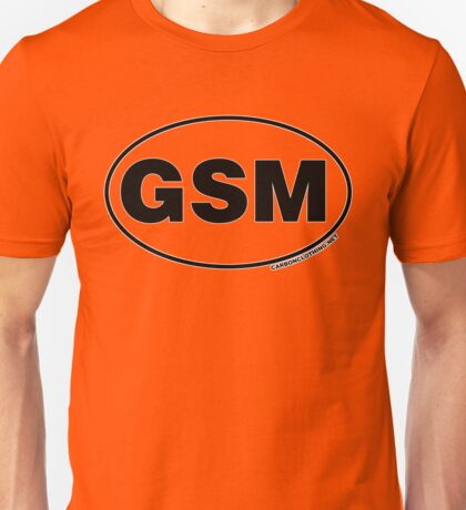 Great Smoky Mountains GSM Unisex T-Shirt