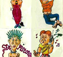 Rock Fans Four by Douglas Durand
