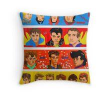 Latino Rock Stars Throw Pillow