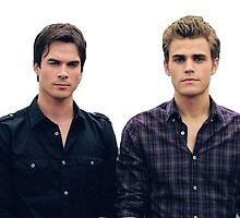 Salvatore brothers cutout by DarioDolan84