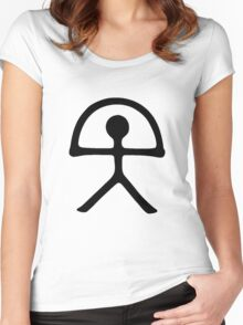 Indalo Man - Almeria - Spain Women's Fitted Scoop T-Shirt