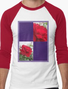 Red Rose Edges Blank Q9F0 T-Shirt